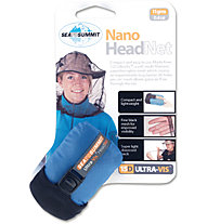 Sea to Summit Nano Head Net - Mosquitonetz, Black
