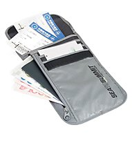 Sea to Summit Neck Wallets RFID - portamonete da viaggio, Grey