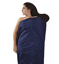 Sea to Summit Silk + Cotton Liner - sacco lenzuolo, Blue