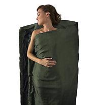Sea to Summit Silk Liner 100% Premium - saccoletto in seta, Green