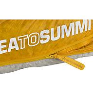 Sea to Summit Spark SpIII - sacco a pelo in piuma, Grey/Yellow