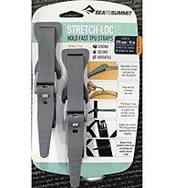 Sea to Summit Stretch Loc Straps - elastische Silikonbänder, Grey (20 x 375 mm)
