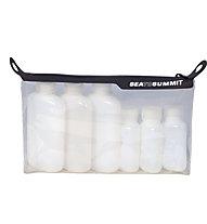 Sea to Summit TravellingLight TPU Clear Zip Top Pouch Kit - custodia da viaggio, Transparent