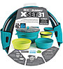 Sea to Summit X-Set 31 - set stoviglie, Pacific Blue/Lime