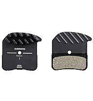 Shimano H03A Incl Spring/Split Pin 1 pair - Bremsbeläge, Black