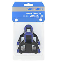 Shimano SH12 - Pedalplatten SPD-SL 2°, Blue