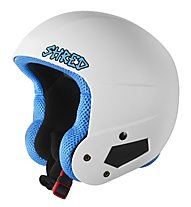 Shred Brain Bucket Whitey - casco da sci, White