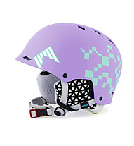 Shred Half Brain D-Lux SQ Air - Casco freeride, Lilac