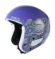 Shred Mega Brain Bucket Rh Nix - casco da sci, Purple