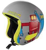 Shred Mega Brain Bucket Robot Boogie, Grey