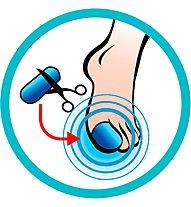 Sidas Gel Toe Caps - protezione, Blue