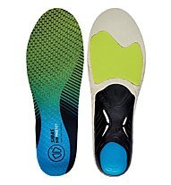Sidas RUN 3d Protect - soletta running, Green/Blue/Black