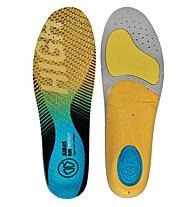 Sidas RUN 3feet Protect High - Einlegesohlen Running, Yellow/Blue/Grey