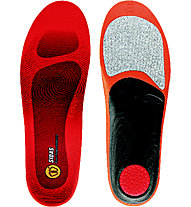 Sidas Winter 3Feed Low - solette per scarpe, Red/Black