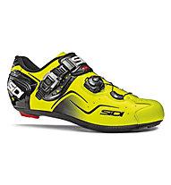 Sidi Scarpe bici corsa Kaos, Yellow Fluo