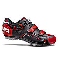 Sidi MTB Buvel - scarpe bici MTB - uomo, Black/Red
