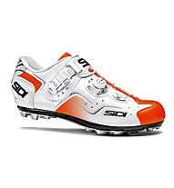 Sidi MTB Cape - MTB Fahrradschuh - Herren, White/Orange