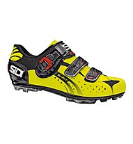 Sidi MTB Eagle 5 Fit, Black/ Yellow Fluo