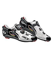 Sidi Wire Carbon Rennradschuh, White/Black