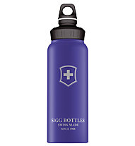 Sigg Swiss Emblem Touch 1,0 L  Wide Mouth, Blue