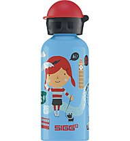 Sigg Travel Girl London 0,4 L, Light Blue/Fantasy