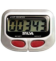 Silva Step Counter - contapassi, Silver/Red