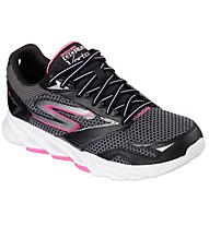Skechers Go Run Vortex Damen, Black/Hot Pink