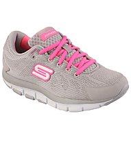 Skechers Shape Ups Liv donna, Light Grey/Pink