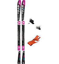 Ski Trab Set Gara Aero WC WMN Flex 60: Ski + Bindung + Felle