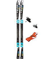 Ski Trab Set Gara Aero World Cup Flex 70: Ski + Bindung + Felle