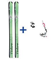 Ski Trab Piuma Evo Volare ST Set: Ski+Bindung
