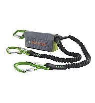 Skylotec Skysafe SAM - set via ferrata - bambino, Green/Black