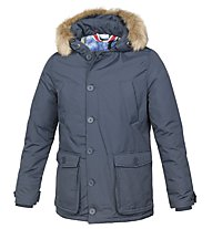 Smiling London Stuff Jacket - giacca imbottita, Blue