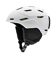 Smith Mission - casco sci, Matte White