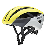 Smith Network MIPS - Radhelm, Grey/Yellow