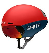 Smith Podium TT MIPS - Radhelm - Herren, Grey/Red