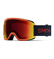 Smith Squad ChromaPop - Skibrille, Red