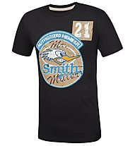 Smith & Miller Member T-Shirt Kurzarm, Black