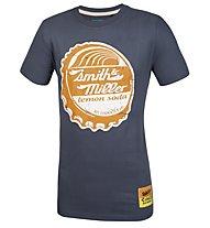Smith & Miller Soda T-Shirt Kurzarm, Blue Navy