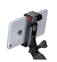 SP Gadgets Phone Mount - supporto per telefonino, Black