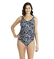 Speedo Grace Maternity Ub Schwimmanzug, Navy/Green