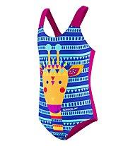 Speedo JungleGina Swimsuit - Badeanzug - Mädchen, Multicolor