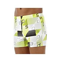 Speedo Mauro Aquashort Jm, Black/Lime