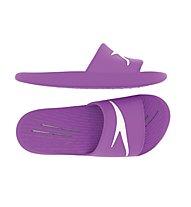Speedo Slides On Piece Ju - Badesandalen - Kinder, Violett