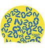 Speedo SLOGAN - Badehaube - Kinder, Yellow/Blue