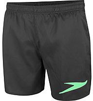 Speedo Sport Solid 16 - Badehose - Herren, Black/Green