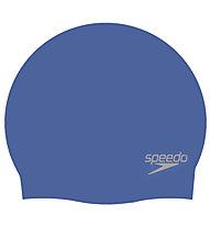 Speedo Sr Silicon Plain Moulded - Badekappe, Light Blue