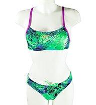 Speedo Train Jungle Bikini Damen, Green