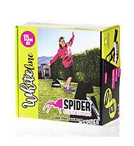 Spider Slacklines White Line 15 - slackline, White