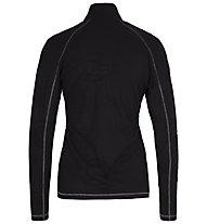 Sportalm Kitzbühel Bergy - maglia in pile - donna, Black